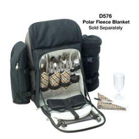 D570 Kimberley 4 Setting Picnic Backpack Set