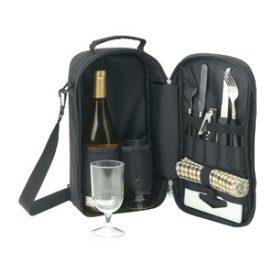 D572 Kimberley Cooler Bag Wine & Cheese Set