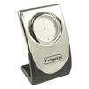 Elite Silver Quartz Clock -D931