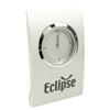 Stylo Titanium Silver Quartz Clock D934