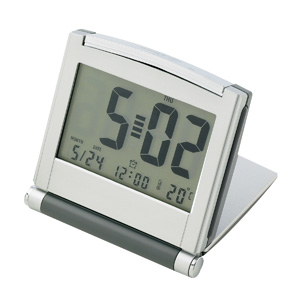 Executive Large Display Travel Clock/Backlight D937