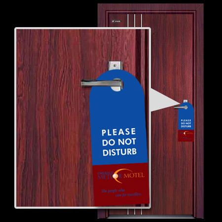 PDH1 Poly Door Hangers