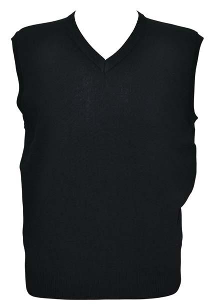 WJ02 V Neck Wool/ Acrylic Knit Vest