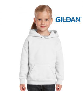 18500B Heavy Blend Youth hooded Sweatshirt
