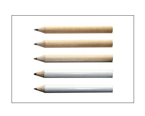 half size sharpened hb lead pencil