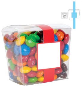 LL33022 M&M's In Clear Mini Noodle Box
