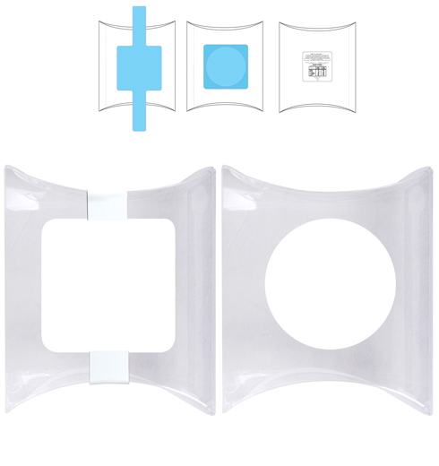 LL326 Pillow Pack Clear Pvc