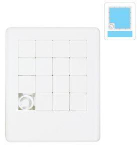White Sliding Tile Puzzle LL808