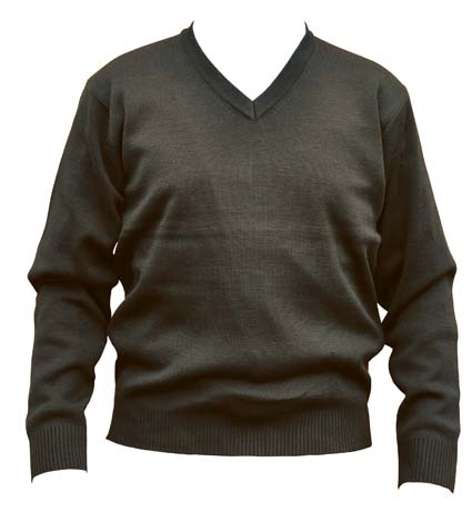 WJ01 V Neck Wool/Acrylic Knit Jumper