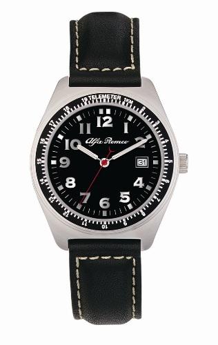 EU1227-SBK Aviator Mens Sports Watch