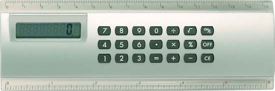 Calculator Ruler combo G61