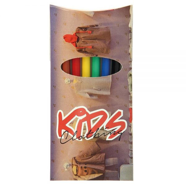 BIC® Visa® Set Of 6 Felt Pens Colouring Set - G1295