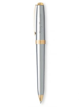 Prelude Matte Chrome/23K Gold Trim Pencil G21184