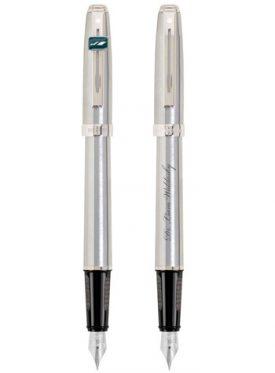 Prelude Matte Chrome/Chrome Trim Fountain Pen G21191