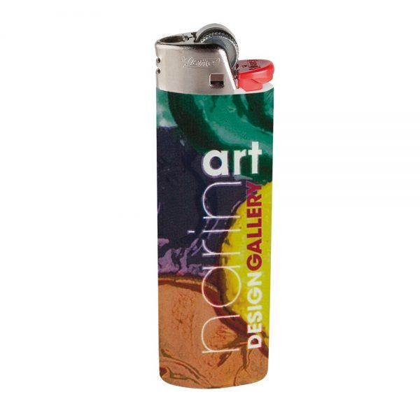 BIC® J26 Digital Maxi Lighter - Metallic - G2328M