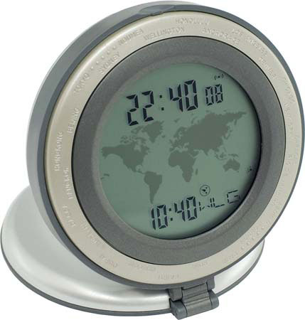 World Alarm Clock G340