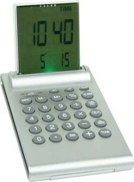 Quadra Desk Calculator Clock G704