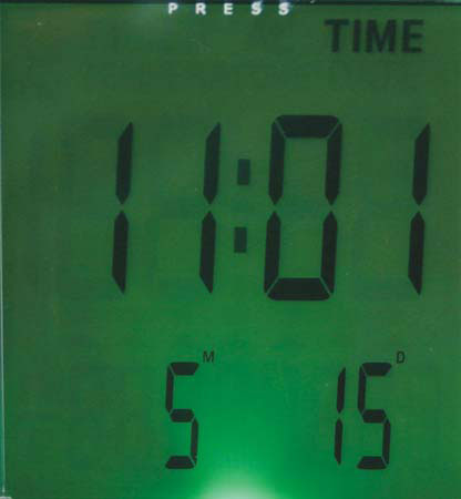 Quadra Desk Calculator Clock G704