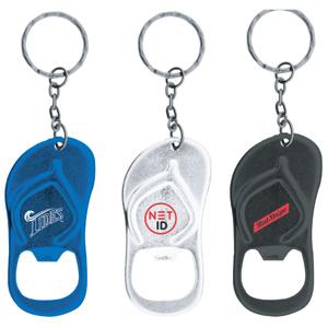 K-192 Sandal Shaped Bottle Opener Keychain