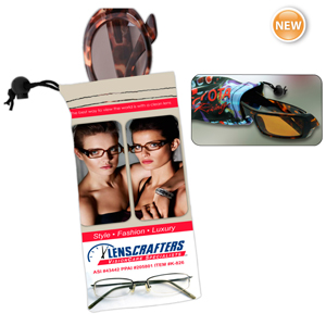 Micro Fiber Sunglass Pouch- K-826