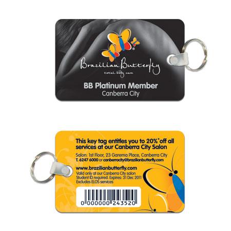 PK1 Plastic Keytags