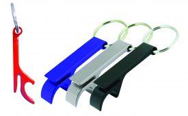 KRB001 Argo Colored Bottle Opener Key Ring
