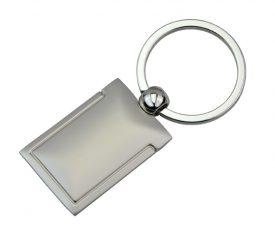 KRS021 Silver Pillow Key Ring