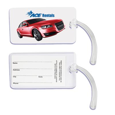 LL001 Monte Carlo Luggage Tag with Loop
