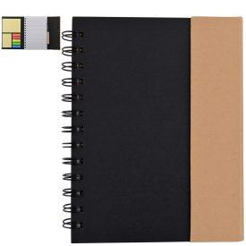 LL0946 Trek Recyclable Notebook / Noteflags / Pen