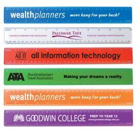 LL11s Transparent 30cm Premium Plastic Ruler