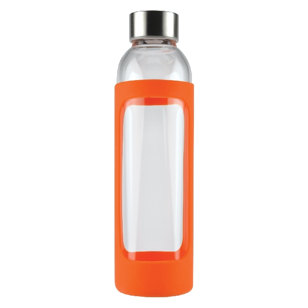 Capri Glass Bottle with Silicone Sleeve - 570ml -  LL1397