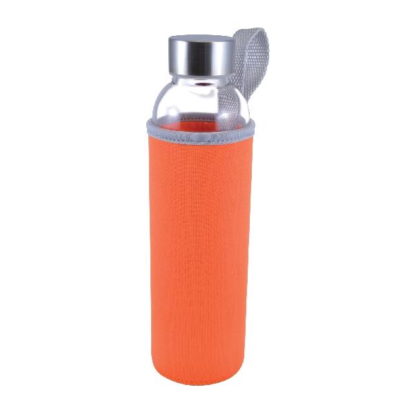 Capri Glass Bottle with Neoprene Sleeve - 570ml -  LL1398