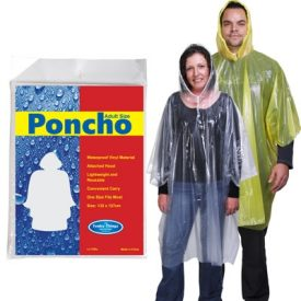 Reusable Poncho In Poly Bag LL1799