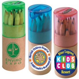 LL193 Coloured Pencils in Cardboard Tube