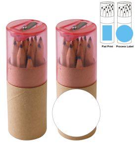 LL193 Coloured Pencils in Cardboard Tube