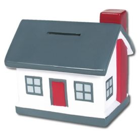 LL241 House Coin Bank