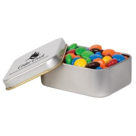 LL33016 M&M's In Silver Tin