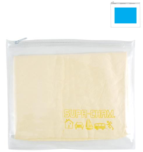 Supa Cham Chamois/Body Towel in PVC Zipper Pouch LL405
