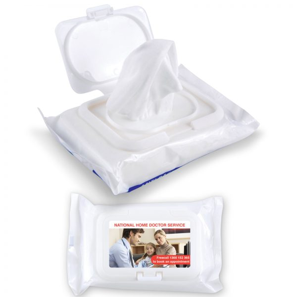 Anti Bacterial Wipes In Pouch LL4659