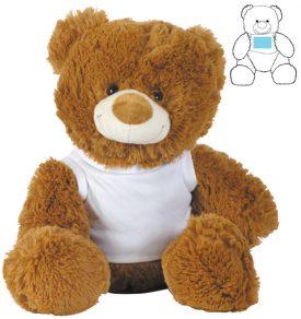 LL88120 Coco (Brown) & Coconut (White) Plush Teddy Bear