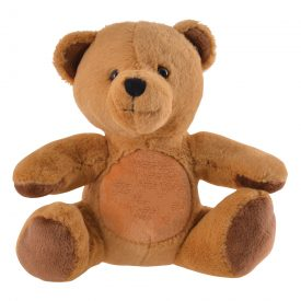 Printed Honey Plush Teddy Bear LN30193
