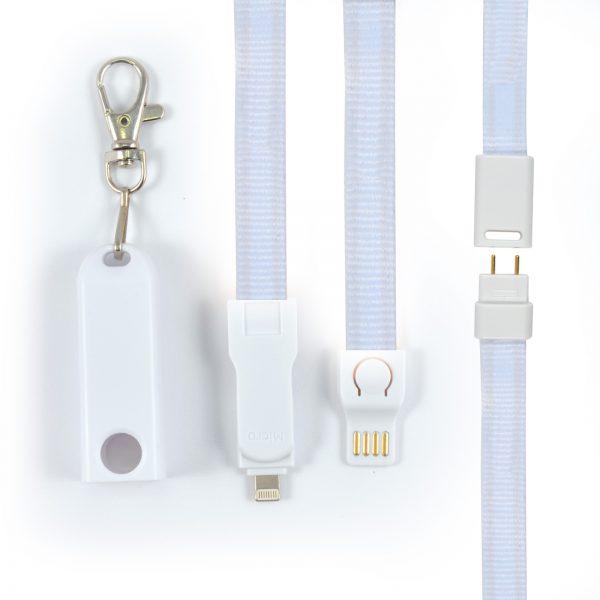 Charging Cable Lanyard  -  LN9362