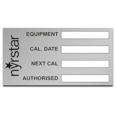 MAS1 Matt Aluminium Stickers