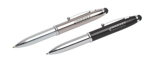 3-Way Stylus Pen & Torch  P36