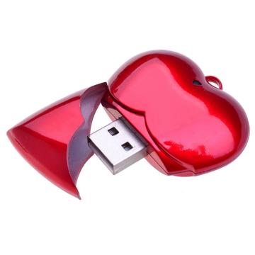 Heart shaped USB Flash drive PCU653