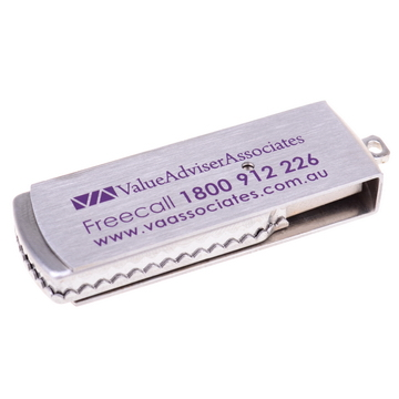 Metal swivel flash drive PCUMET1