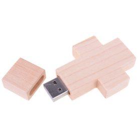 Cross Wooden Flash Drive PCUW4