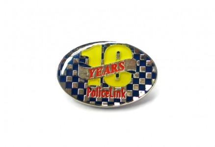 2DPB 2D Plated Badge