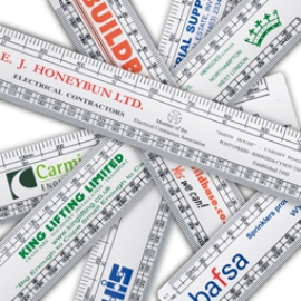 Promotional 30CM Oval Scale Ruler