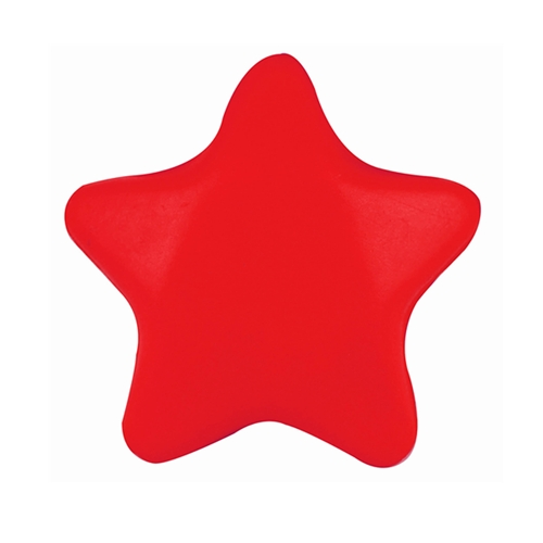 Promotional Stress Star Red